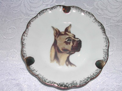 Ashtray Gilt - Boxer