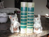 Vintage Metal Scottie Dog Bookends