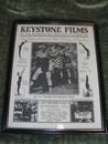 Keystone Films Chaplin 1913 Nickelodeon Movie Advertisement Post