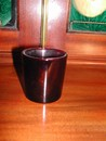 Anchor Hocking Ruby Red Glass Toothpick Holder