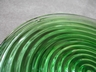 "Anchor Hocking ""Park Avanue"" Manhattan Green Glass Plates"