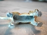 Adorable Metal Dog Pendent or Ornament Golden Retriever