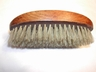 Vintage Pyrography Flemish Art? Gentleman's Valet Brush