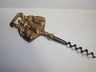 Brass Carolers English Reproduction Corkscrew