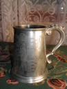 Pewter Ale Mug English Monarchy c.1950's