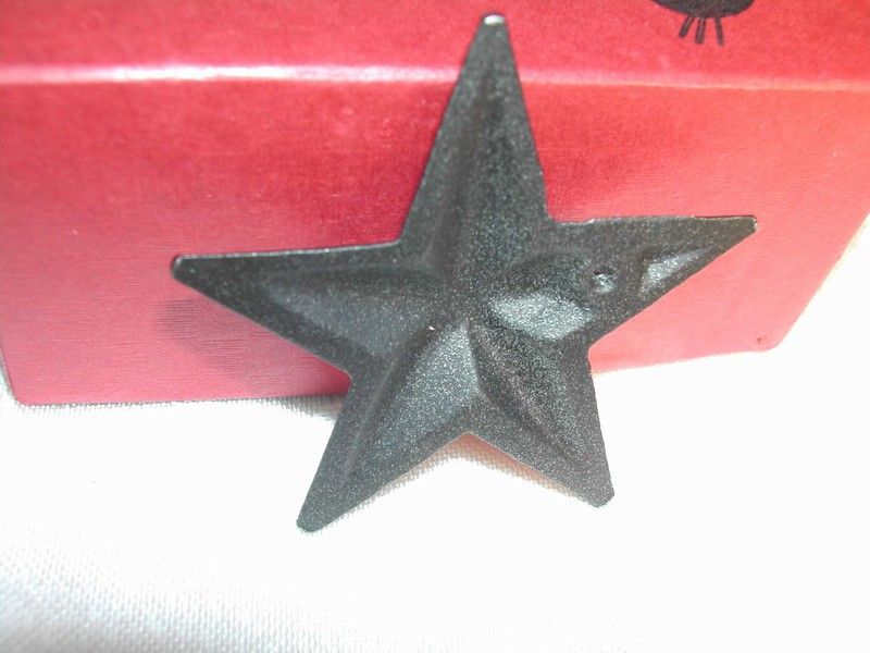 Wilton Products Inc. Cast Iron Metal Americana Stars Original Bo