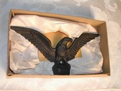 Wilton Products, Inc. Cast Iron Eagle Original Box Vintage