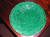 Grape & Strawberry Leaf Plate