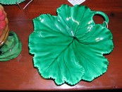 Clairefontaine Maple Leaf Majolica Dish