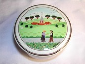 Villeroy & Boch Porcelain Trinket/Powder Box Design Naif