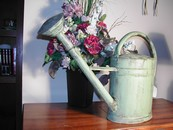 "Large Vintage ""Cotswolds"" English Watering Can"