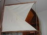 Old Wooden Pond Yacht Sailboat Dingy