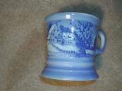 Vintage Currier & Ives Shaving Mug
