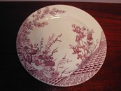 JM & S Mulberry Ironstone Plate England