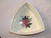 Antique Waechtersbach Triangular Ceramic Transferware Dish 1904