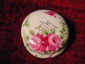 A Vintage Nippon Hand Painted Powder Jar