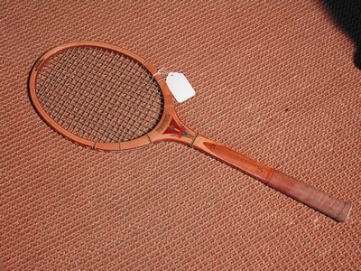 Vintage Wood Tennis Racket-Regent