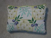 Olive Garden Tapestry Accent Pillow New