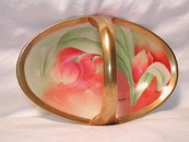 Beautiful Limoges Tulip Basket Bon - Bon Dish