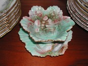 Vintage Hand Painted Sea Shell Limoges Mayonnaise