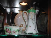 Antique Limoges Chocolate Pot
