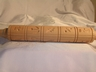 Reproduction Long German Springerle Wood Cookie Rolling Pin