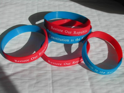 """Restore Our Republic"" Wristlets/Key Chains (Qty 5)"